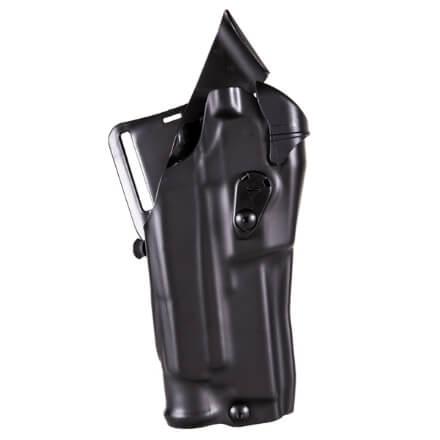 Safariland 6390RDS ALS Mid Ride STX Tac Plain Black UBL Holster Right Hand Glock 17/22 w/ Light