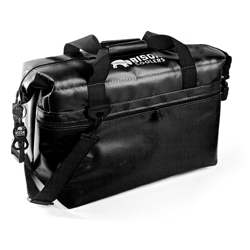 Picture of Bison Coolers 24-can SoftPak - Black