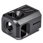 Zev PRO Compensator V2 9MM 1/2x28 - Black