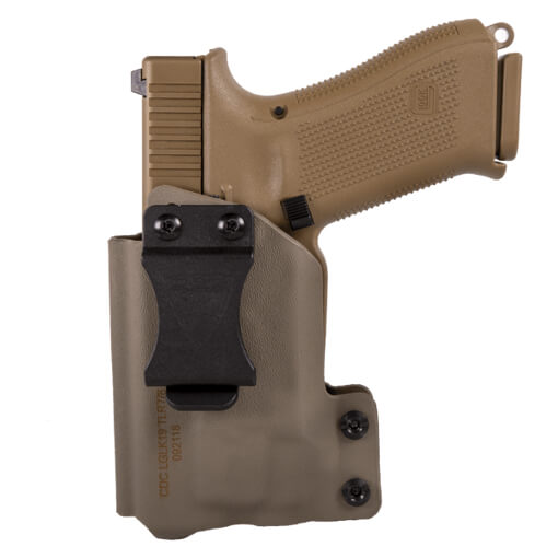 CDC Holster Glock 19/23/32 w/ TLR-7/8 Left Hand - E2 Tan
