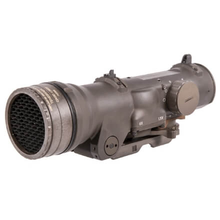 Elcan Specter DR Dual Role 1.5x/6x Optical Sight 5.56 CX5455 Reticle w/ ARMS Mount - FDE