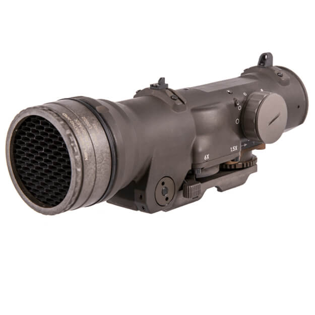 Elcan Specter DR Dual Role 1.5x/6x Optical Sight 7.62 CX5456 Reticle w/ ARMS Mount - FDE