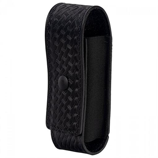 North American Rescue Duty Belt CAT Tourniquet Holder - Basket Weave w/ Loop - Black Snap