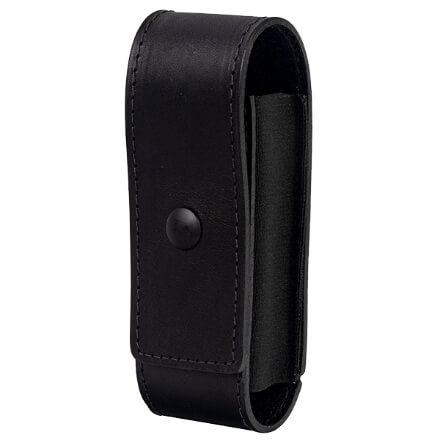 North American Rescue Duty Belt CAT Tourniquet Holder - Full Grain Leather w/ Loop - Black Snap