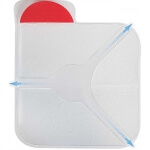 North American Rescue Hyfin Vent Compact Chest Seal Twin Pack