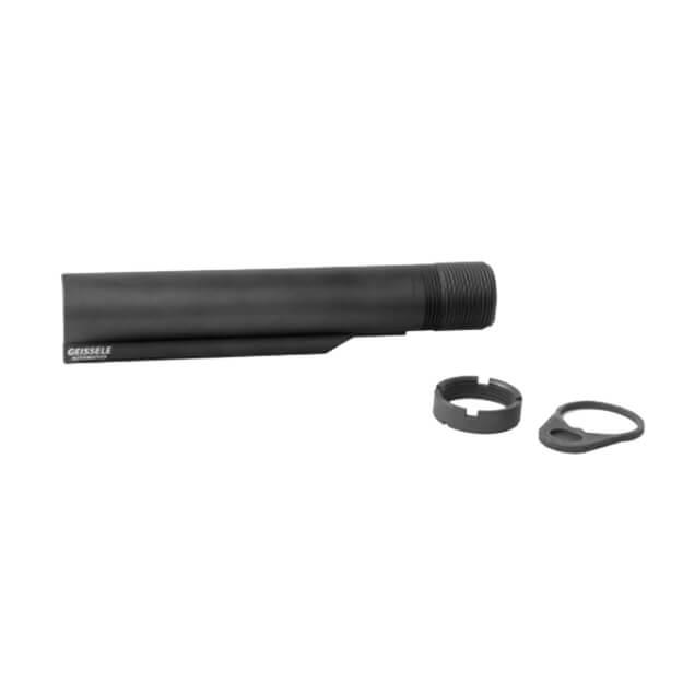 Geissele Premium Mil-Spec Buffer Tube AR-15/M4 - Black