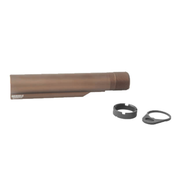 Geissele Premium Mil-Spec Buffer Tube AR-15/M4 - Sand