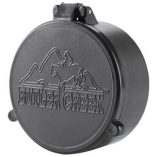 "Butler Creek Flip-Open Scope Cover - #02A Objective 1.181"" 30MM"