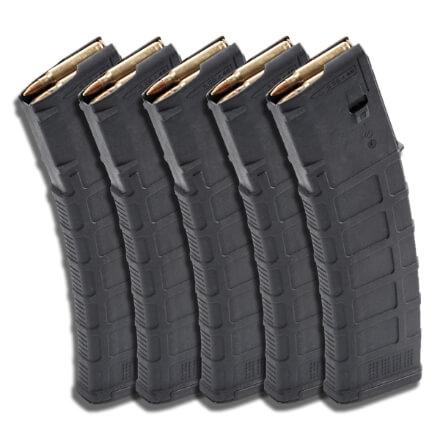 MAGPUL 40rd PMAG - Black - 5 Pack
