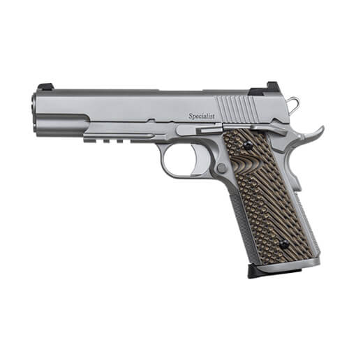 Dan Wesson Specialist Commander Stainless 45ACP Pistol