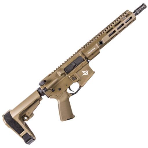 "TriArc TSR-15 Service 10.5"" TRACK Barrel 5.56MM Pistol w/ SBA3 Brace - Dark Earth"