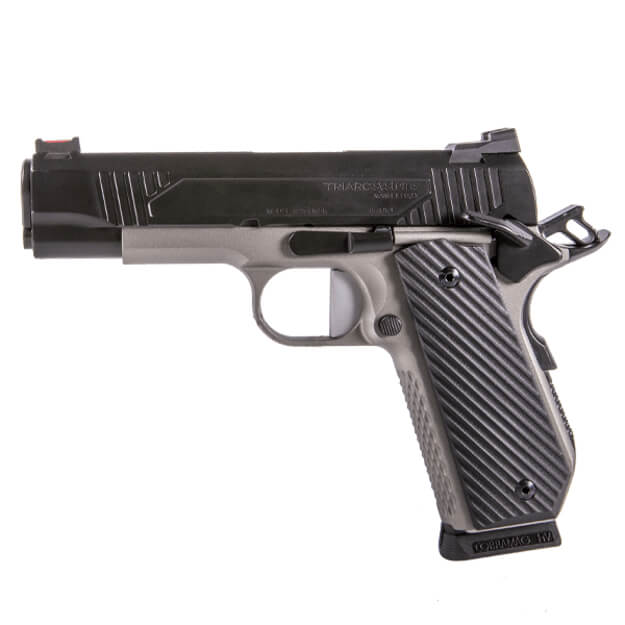 """TriArc 1911 Commander .45 ACP 4.3"""" TRACK Barrel w/ Stainless Short Dust Cover - Black Nitride Finish"""