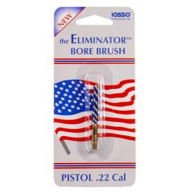 IOSSO Eliminator Premium Pistol Bore Brush .22 Cal
