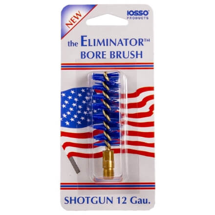 IOSSO Eliminator Premium Shotgun Bore Brush 12-Gauge