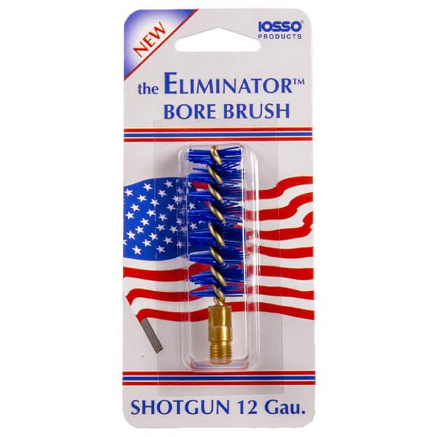 IOSSO Eliminator Premium Shotgun Bore Brush 12-Gauge