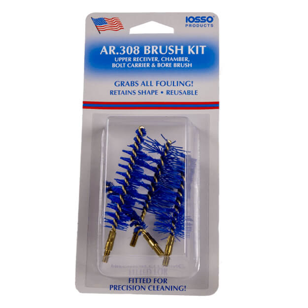 IOSSO AR-308 Brush Kit - 4 Brush Pack