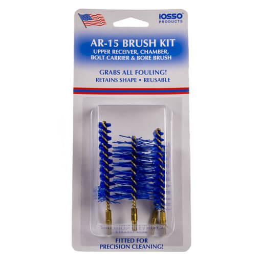 IOSSO AR-15 Brush Kit - 4 Brush Pack
