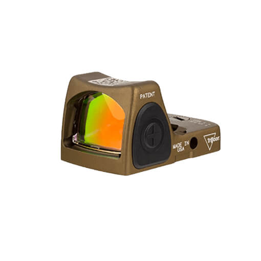 Trijicon RMR Type 2 - Adjustable 3.25 MOA Red Dot - Hard Anodized Coyote Brown