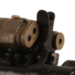 Midwest Industries PEQ-15 AR Front Sight - Black