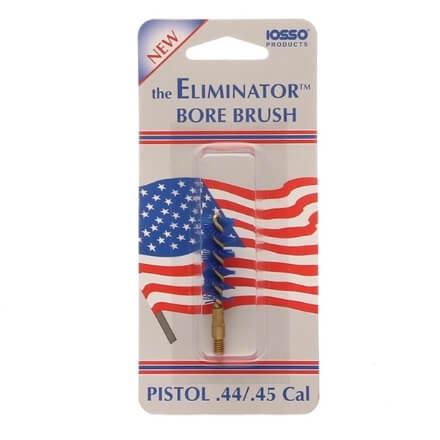 IOSSO Eliminator Premium Pistol Bore Brush .44/.45