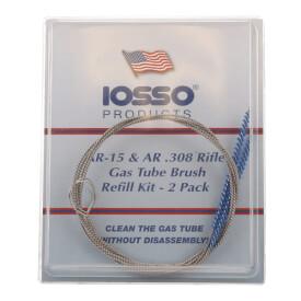 IOSSO AR-15/AR-308 Gas Tube Brush Refill - 2 Brush Pack