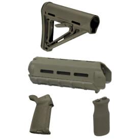 MAGPUL MOE Carbine Furniture Kit - Olive Drab Green