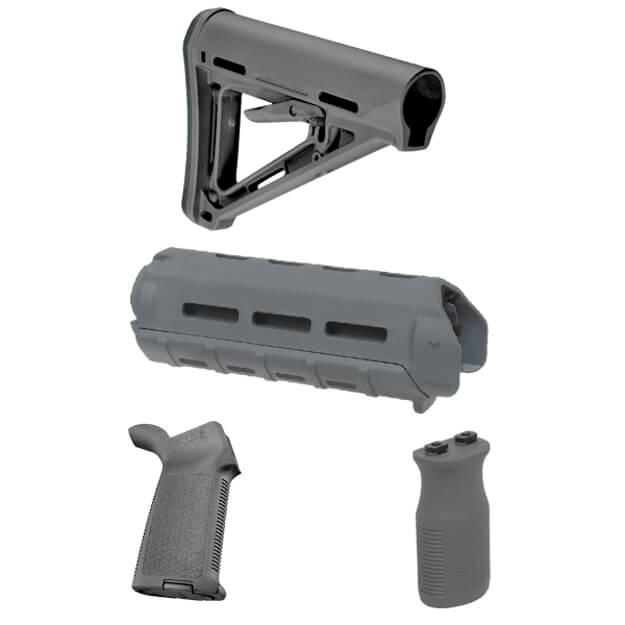 MAGPUL MOE Carbine Furniture Kit - Stealth Grey