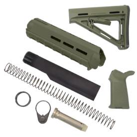 MAGPUL Midlength MOE Kit - OD Green