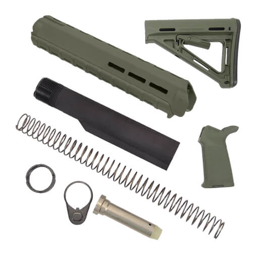 MAGPUL Rifle Length MOE Kit - OD Green