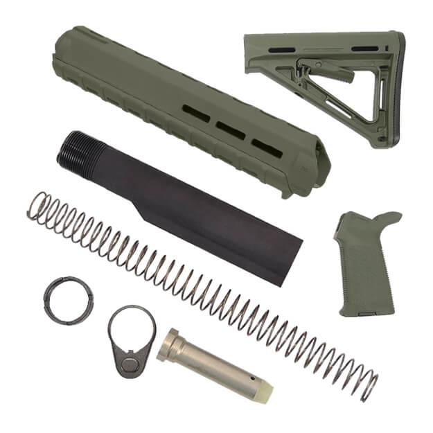 MAGPUL Rifle Length MOE Kit - OD Green
