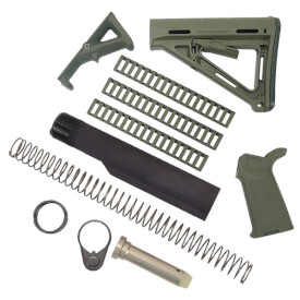 MAGPUL MOE Kit with Rail Covers and AFG2 - Olive Drab Green