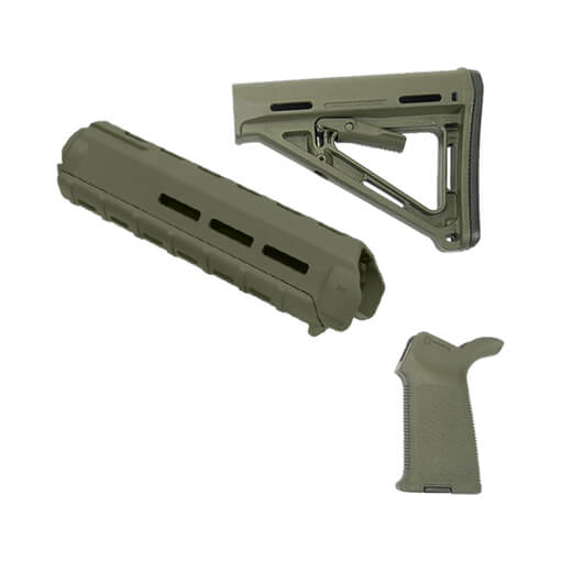 MAGPUL MOE Midlength Furniture Standard Kit - Olive Drab Green