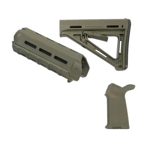 MAGPUL MOE Carbine Furniture Standard Kit - Olive Drab Green