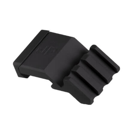 JP Offset 45 Degree Rail Mount for Optics or Accessories