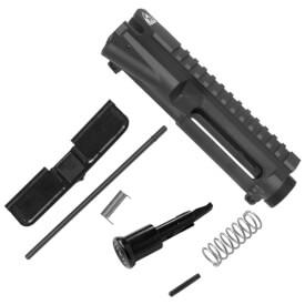 DSG Arms Stripped Upper Receiver w/ Port Door Kit & Forward Assist Kit