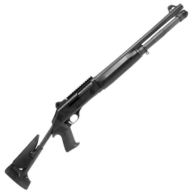 """Benelli 11721 M4 18.5"""" 12GA - Telescoping Stock Ghost Ring Sights - L.E. Only"""