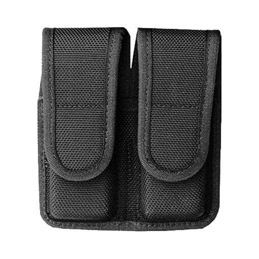 Bianchi Accumold 7302 Double Mag Pouch Black Size 2