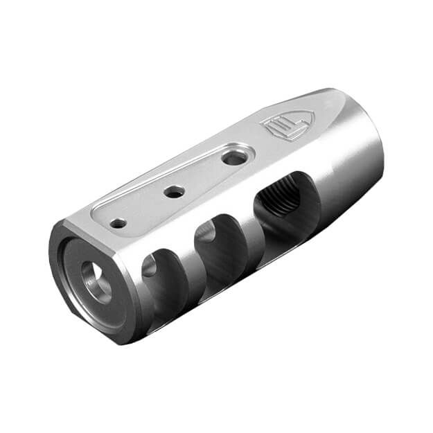 Fortis RED Stainless Steel Muzzle Brake - 5.56mm