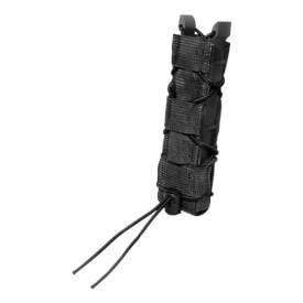 High Speed Gear Belt Mounted Extended Pistol Taco - Black