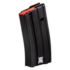D&H Tactical .300 Blackout 20rd Aluminum Black Magazine w/ Red Follower