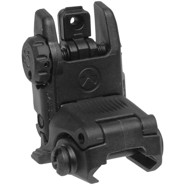 MAGPUL Gen2 MBUS Rear Back Up Sight - Black