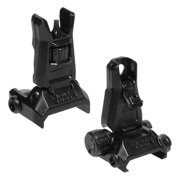 MAGPUL MBUS Pro Back-Up Front and Rear Sight Set