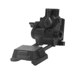 Wilcox L4 G24 Mount w/ Low Profile Breakaway Base - Black