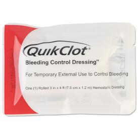 North American Rescue QuikClot Bleeding Control Roll Dressing