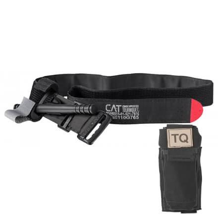 North American Rescue CAT Tourniquet and Tourniquet Holder - Black