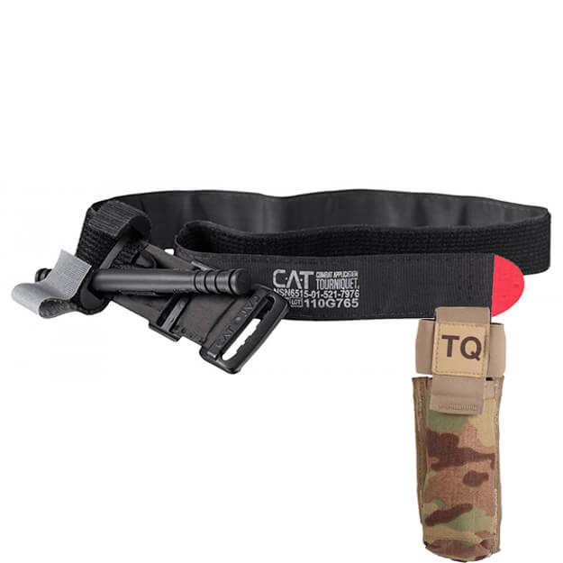 North American Rescue CAT Tourniquet and Tourniquet Holder - Multicam