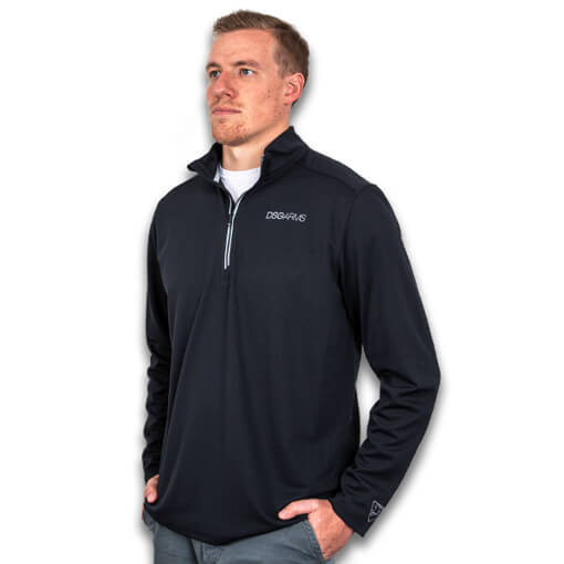 DSG Arms Sport-Wick Textured 1/4-Zip Pullover