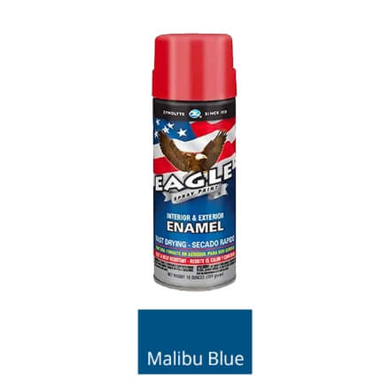 Aervoe Spray Mate Enamel Paint - Malibu Blue