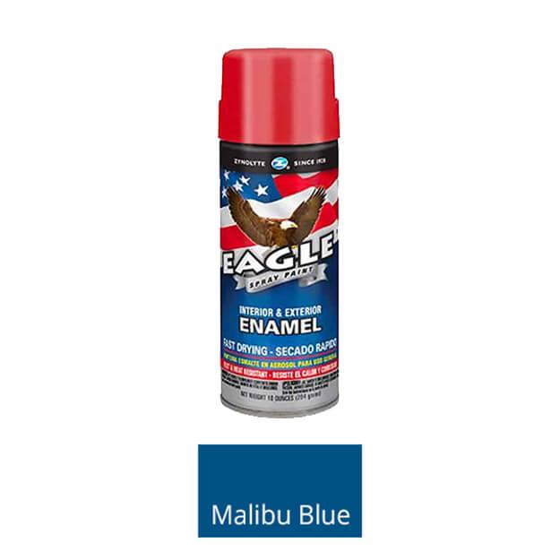 Aervoe Spray Mate Enamel Paint - Malibu Blue