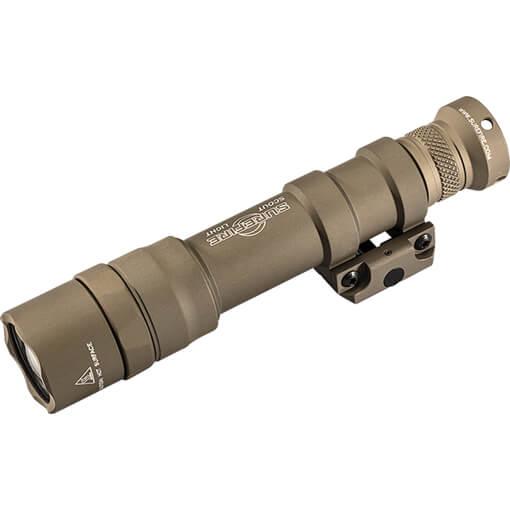 Surefire M600DF Scout Dual Fuel Weapon Light 1500 Lumens - Tan